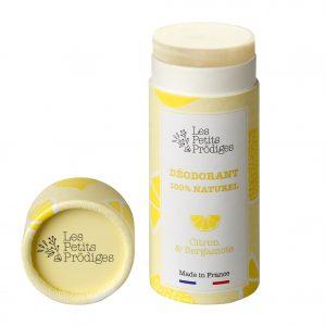 Les Petits Prodiges Déodorant Citron et Bergamote Ouvert