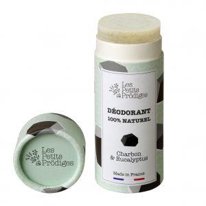 Les Petits Prodiges Déodorant Charbon et Eucalyptus Ouvert